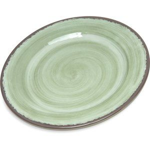 "NEW - 2 Melamine 7"" Plates in Jade by Carlisle"
